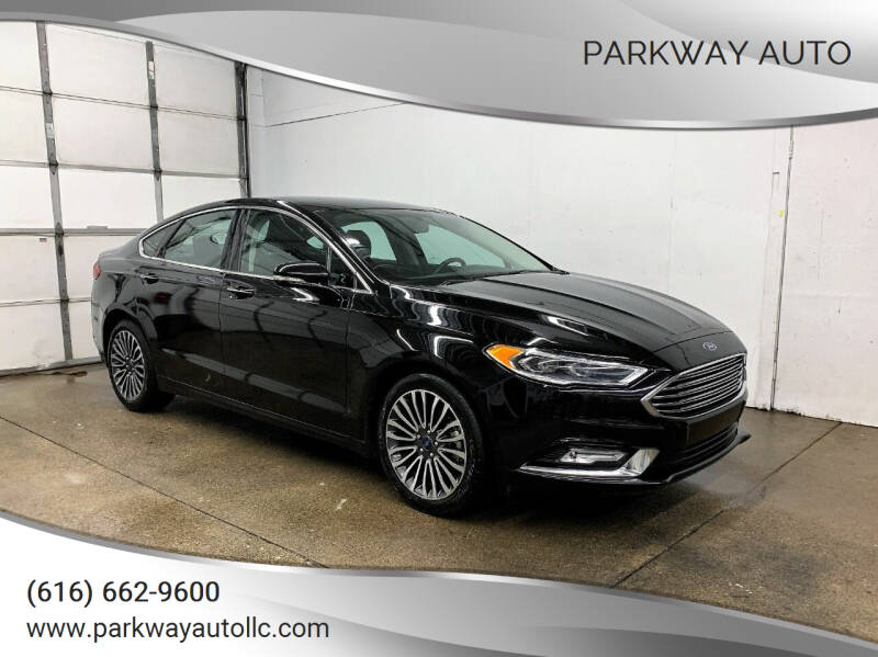 2017 Ford Fusion for sale at PARKWAY AUTO in Hudsonville MI