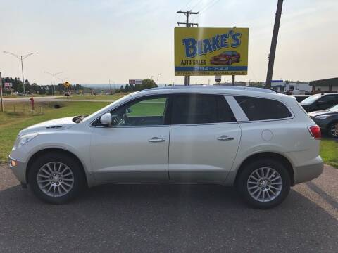 2010 Buick Enclave for sale at Blake's Auto Sales in Rice Lake WI