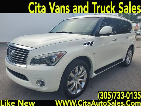 2014 Infiniti QX80 for sale at Cita Auto Sales in Medley FL