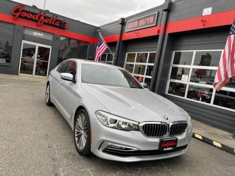 2017 BMW 5 Series for sale at Goodfella's  Motor Company in Tacoma WA