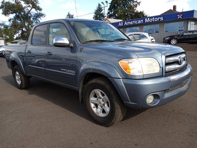 2006 Toyota Tundra for sale at All American Motors in Tacoma WA