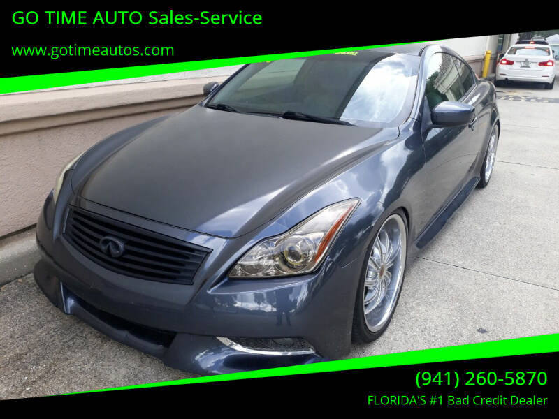 2008 Infiniti G37 for sale at Go Time Automotive in Sarasota FL