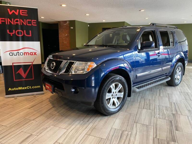 2012 Nissan Pathfinder for sale at AutoMax in West Hartford CT