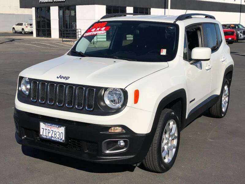 2016 Jeep Renegade for sale at Dow Lewis Motors in Yuba City CA