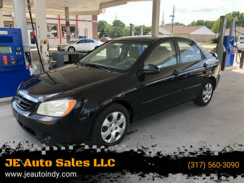 2006 Kia Spectra for sale at JE Auto Sales LLC in Indianapolis IN