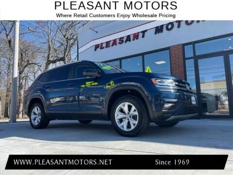 2018 Volkswagen Atlas for sale at Pleasant Motors in New Bedford MA