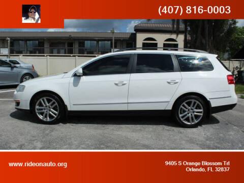 2008 Volkswagen Passat for sale at Ride On Auto in Orlando FL