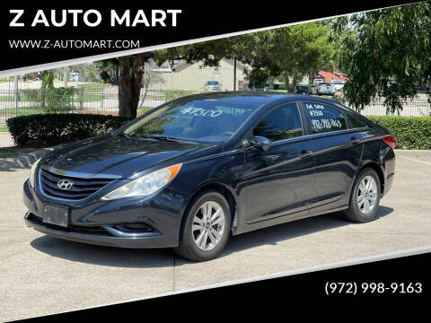 2012 Hyundai Sonata for sale at Z AUTO MART in Lewisville TX
