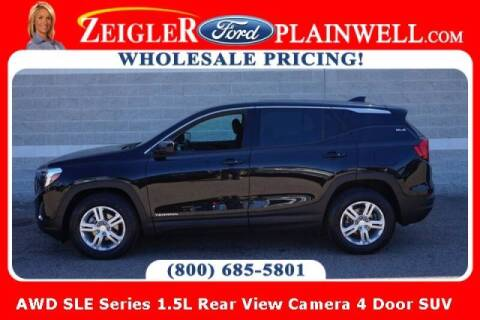 2018 GMC Terrain for sale at Zeigler Ford of Plainwell- michael davis in Plainwell MI