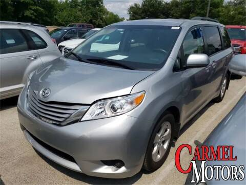 2017 Toyota Sienna for sale at Carmel Motors in Indianapolis IN