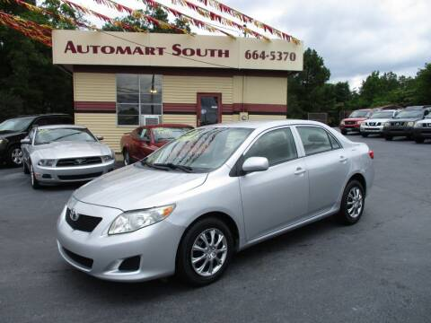 2010 Toyota Corolla for sale at Automart South in Alabaster AL
