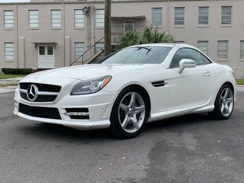 2013 Mercedes-Benz SLK for sale at Consumer Auto Credit in Tampa FL