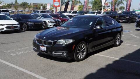 2016 BMW 5 Series for sale at Choice Motors in Merced CA