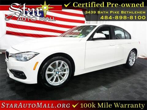 2017 BMW 3 Series for sale at STAR AUTO MALL 512 in Bethlehem PA