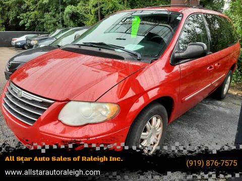 2005 Chrysler Town and Country for sale at All Star Auto Sales of Raleigh Inc. in Raleigh NC