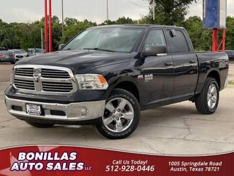 2019 RAM Ram Pickup 1500 Classic for sale at Bonillas Auto Sales in Austin TX