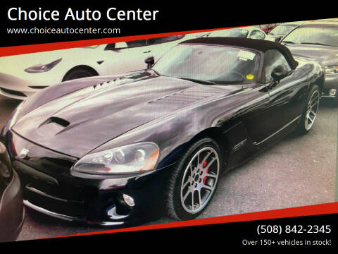 2003 Dodge Viper for sale at Choice Auto Center in Shrewsbury MA