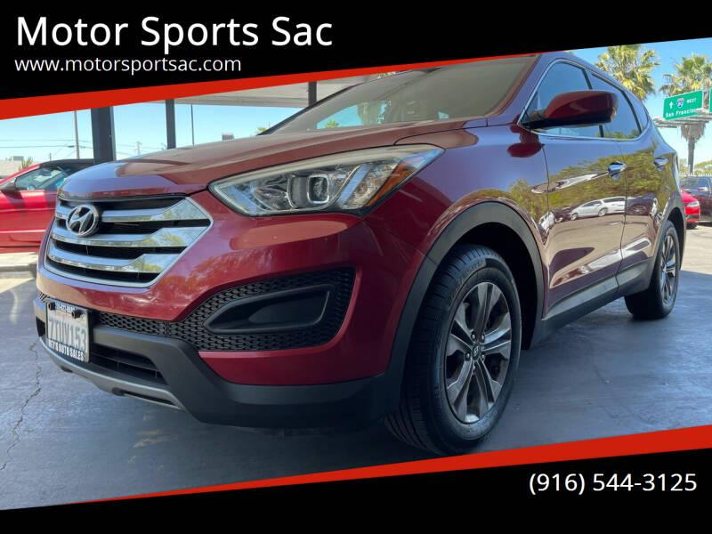 2015 Hyundai Santa Fe Sport for sale at Motor Sports Sac in Sacramento CA