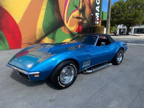 1969 Chevrolet Corvette for sale at BIG BOY DIESELS in Ft Lauderdale FL