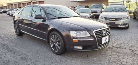 2008 Audi A8 L for sale at I-80 Auto Sales in Hazel Crest IL