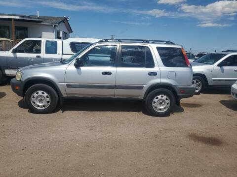 2001 Honda CR-V for sale at PYRAMID MOTORS - Fountain Lot in Fountain CO