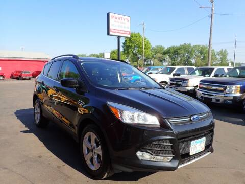 2015 Ford Escape for sale at Marty's Auto Sales in Savage MN