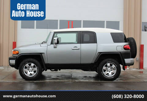 2010 Toyota FJ Cruiser for sale at German Auto House in Fitchburg WI
