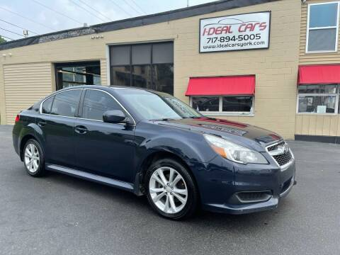 2013 Subaru Legacy for sale at I-Deal Cars LLC in York PA
