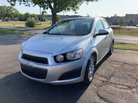 2015 Chevrolet Sonic for sale at Blake Hollenbeck Auto Sales in Greenville MI