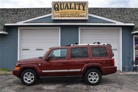 2007 Jeep Commander for sale at Quality Pre-Owned Automotive in Cuba MO