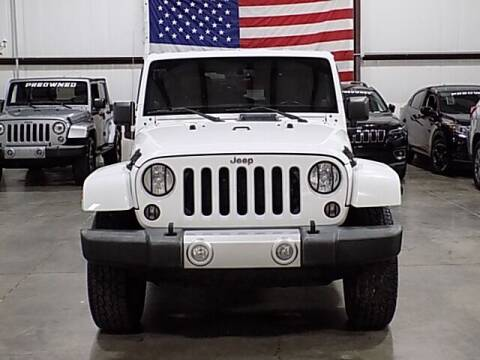 2014 Jeep Wrangler Unlimited for sale at Texas Motor Sport in Houston TX