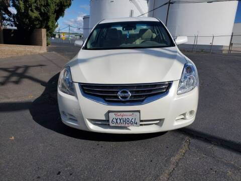 2012 Nissan Altima for sale at Regal Autos Inc in West Sacramento CA