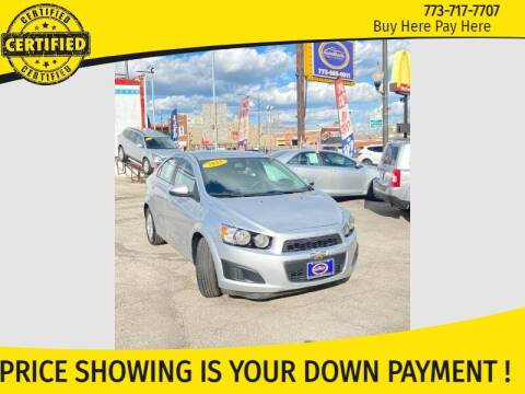 2015 Chevrolet Sonic for sale at AutoBank in Chicago IL