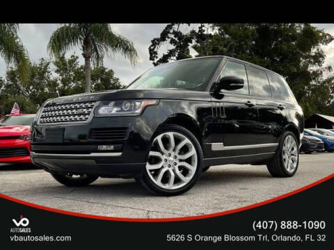 2015 Land Rover Range Rover for sale at V & B Auto Sales in Orlando FL