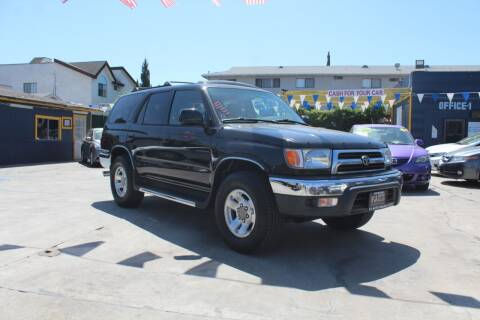 2000 Toyota 4Runner for sale at FJ Auto Sales in North Hollywood CA