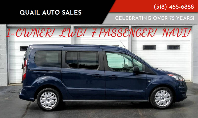 2016 Ford Transit Connect Wagon for sale at Quail Auto Sales in Albany NY