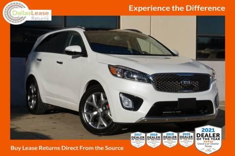 2018 Kia Sorento for sale at Dallas Auto Finance in Dallas TX