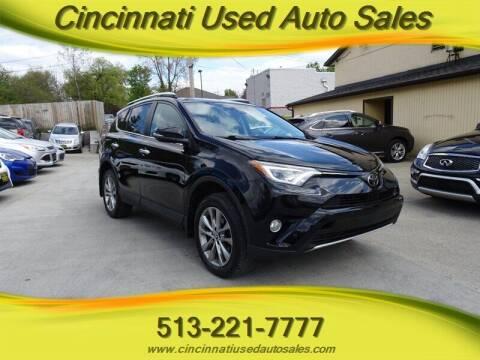 2016 Toyota RAV4 for sale at Cincinnati Used Auto Sales in Cincinnati OH