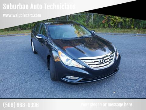 2012 Hyundai Sonata for sale at Suburban Auto Technicians in Walpole MA