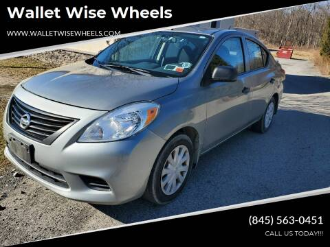 2013 Nissan Versa for sale at Wallet Wise Wheels in Montgomery NY