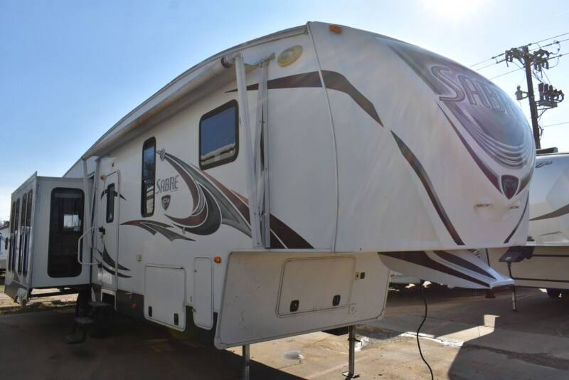 2013 Forest River Sabre 341REQS for sale at Buy Here Pay Here RV in Burleson TX
