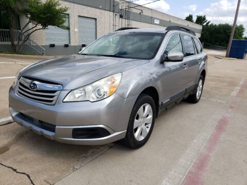 2011 Subaru Outback for sale at ZNM Motors in Irving TX