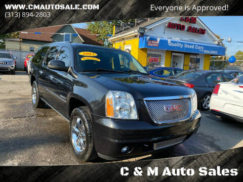 2012 GMC Yukon XL for sale at C & M Auto Sales in Detroit MI