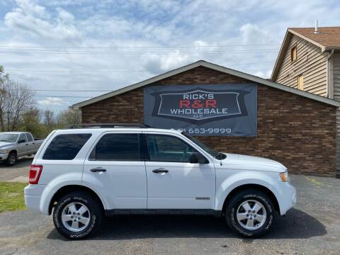 2008 Ford Escape for sale at Rick's R & R Wholesale, LLC in Lancaster OH