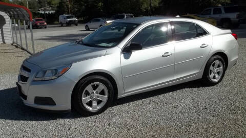 2013 Chevrolet Malibu for sale at MIKE'S CYCLE & AUTO in Connersville IN