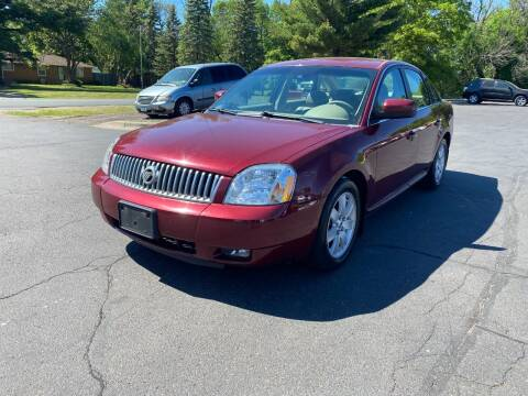 2007 Mercury Montego for sale at Northstar Auto Sales LLC in Ham Lake MN