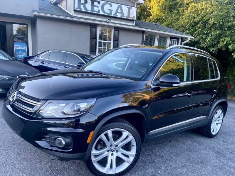 2012 Volkswagen Tiguan for sale at Regal Auto Sales in Marietta GA