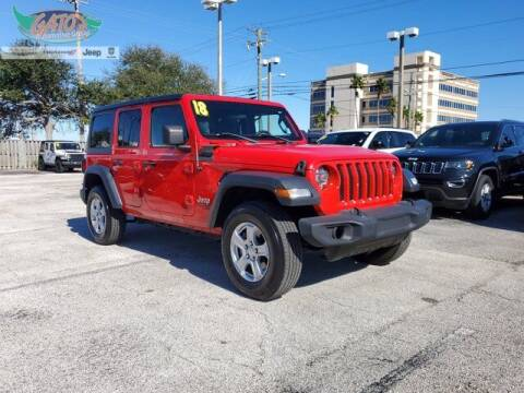 2018 Jeep Wrangler Unlimited for sale at GATOR'S IMPORT SUPERSTORE in Melbourne FL