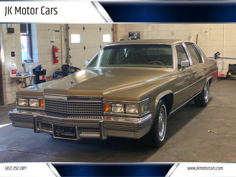 1979 Cadillac Fleetwood Brougham for sale at JK Motor Cars in Pittsburgh PA