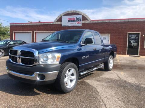 2007 Dodge Ram Pickup 1500 for sale at Family Auto Finance OKC LLC in Oklahoma City OK